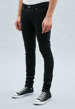 Black Super-Skinny Cordoza Jeans