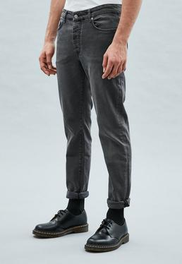 Washed Black Slim Wallace Jeans