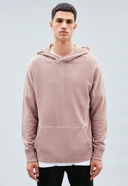 Pink Regular Overhead Hoodie