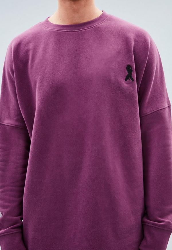 Embroidered Crew Neck