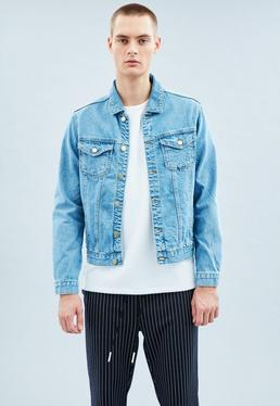 Blue Lanscillo Western Denim Jacket
