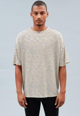 Off-White Space Dye Striped T-shirt