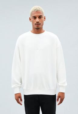 Boxy Crew Plain Signature Sweatshirt