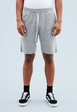 Grey Regular Jersey Shorts