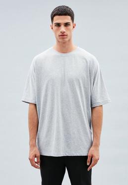 Grey Extreme Oversized T-shirt