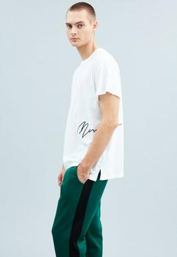 White Side Signature Regular T-Shirt