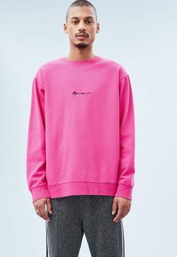 Bright Pink Signature Sweatshirt