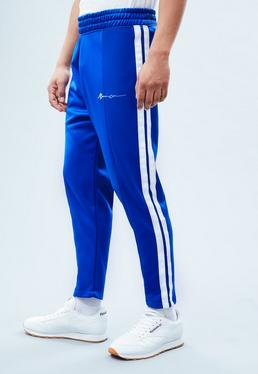 Blue Tricot Signature Cropped Track Bottoms