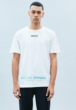 White MENNACE EST 2016 Tee