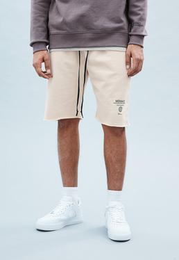 Nude Washed Out Shorts