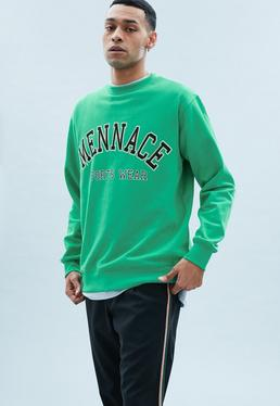 Green Collegiate Sweat