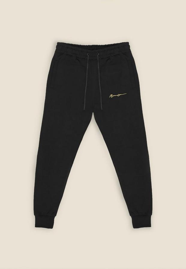 Black Essential Jogger, Men's, Size S, Black