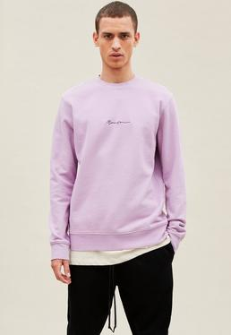 Lilac Essential Signature Sweatshirt