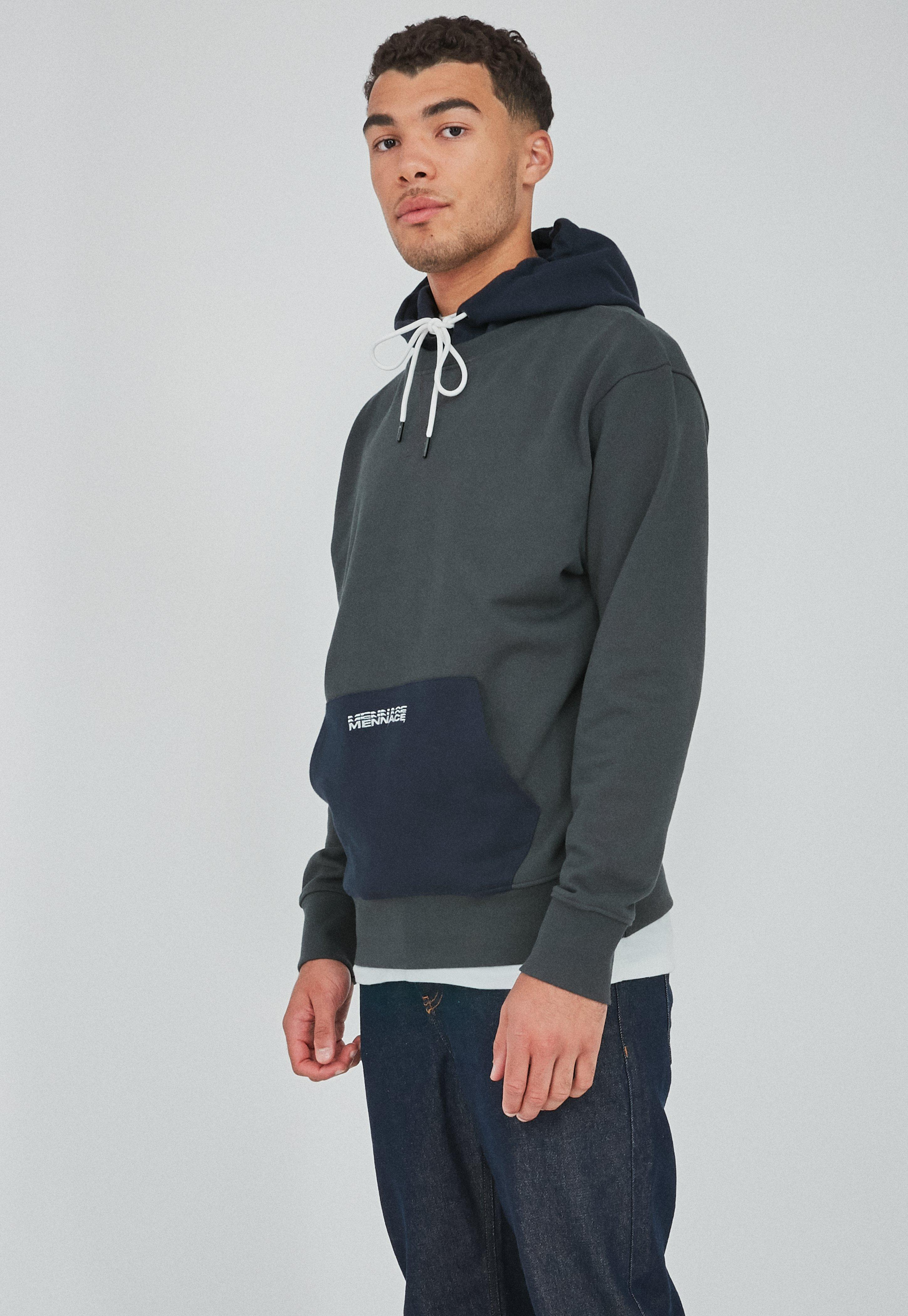 premium selection 66be9 08199 Charcoal Heavyweight Contrast Texture Hoodie