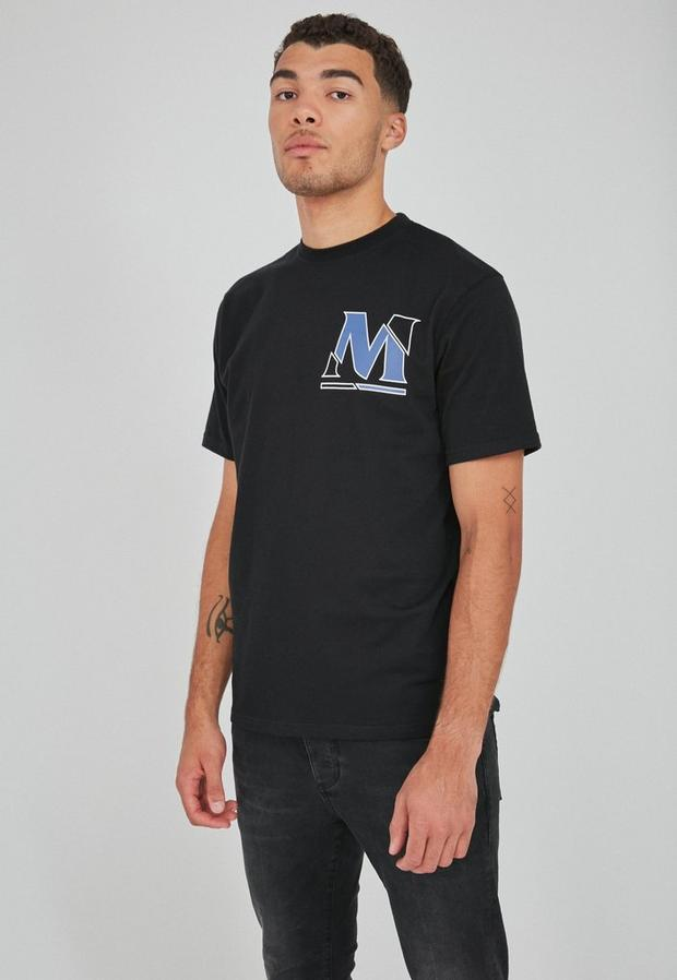 Black Short Sleeve Void Cutter T Shirt, Men's, Size M, Black