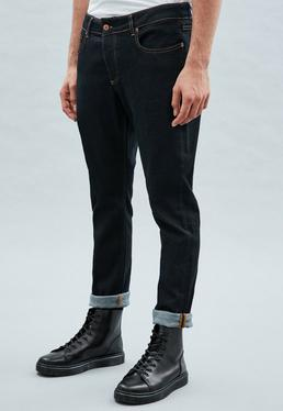 Blue Skinny Relaxed Makavelli Jeans