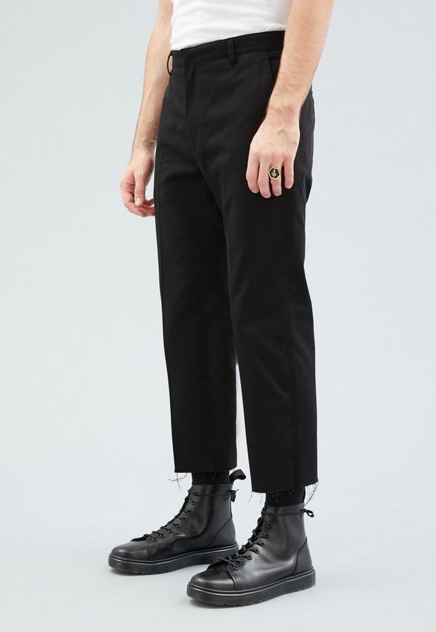 Black Skate Trousers, Men's, Size 34R, Black