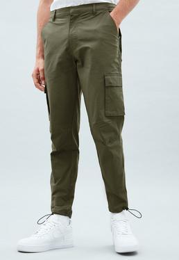 449989b2861 ... Khaki Ripstop Utility Trousers