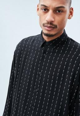 Black Mennace Signature Long Sleeved Shirt