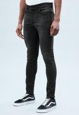 Black Skinny Relaxed Jeans